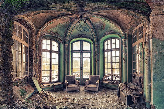 abandoned buildings by matthias haker false art. Black Bedroom Furniture Sets. Home Design Ideas
