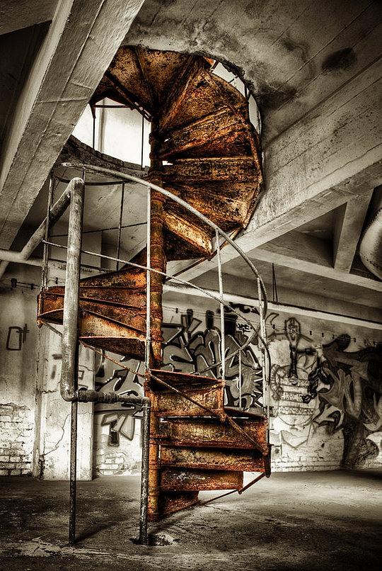 Abandoned Buildings By Matthias Haker False Art